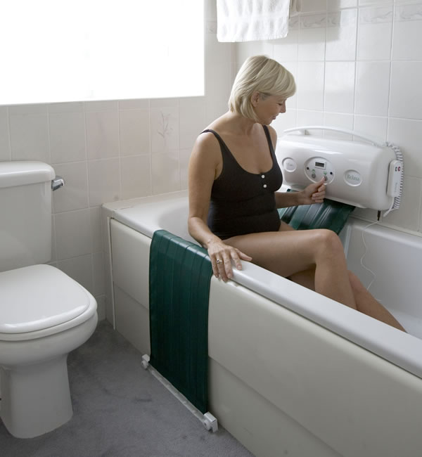 bath lift video, sonaris bath lift video, bellavita bath lift, dealers for minivator 303 bath lift