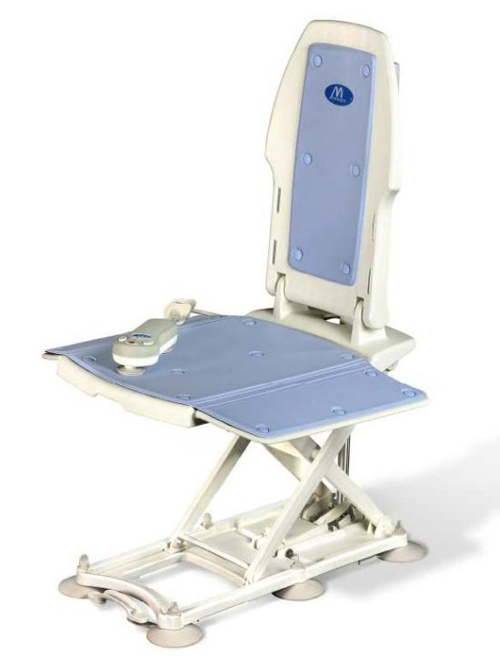 bath lifts for totally handicapped, hydraulic bath lifts, bath lift video, unblocking lift and turn bath drain