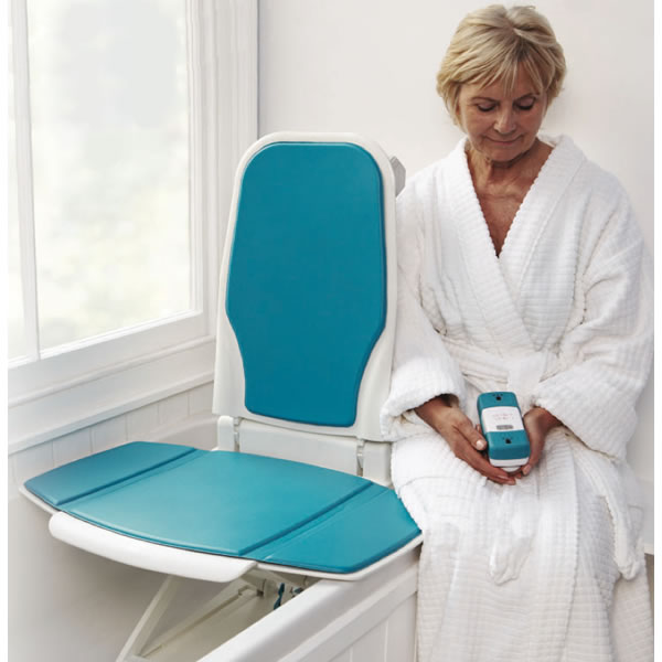 sonaris bath lift, aquatec bath lifts, akkulift bath lift, bath lift chair