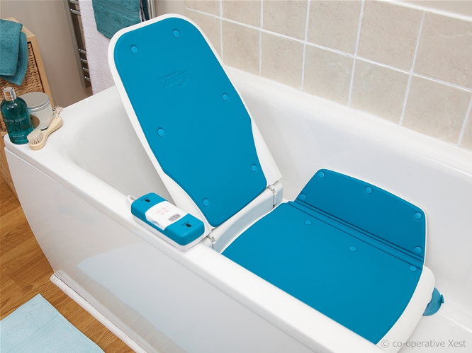 aquatec bath tub lift, bath lifts for totally handicapped, akkulift bath lift, minivator 303 bath lift