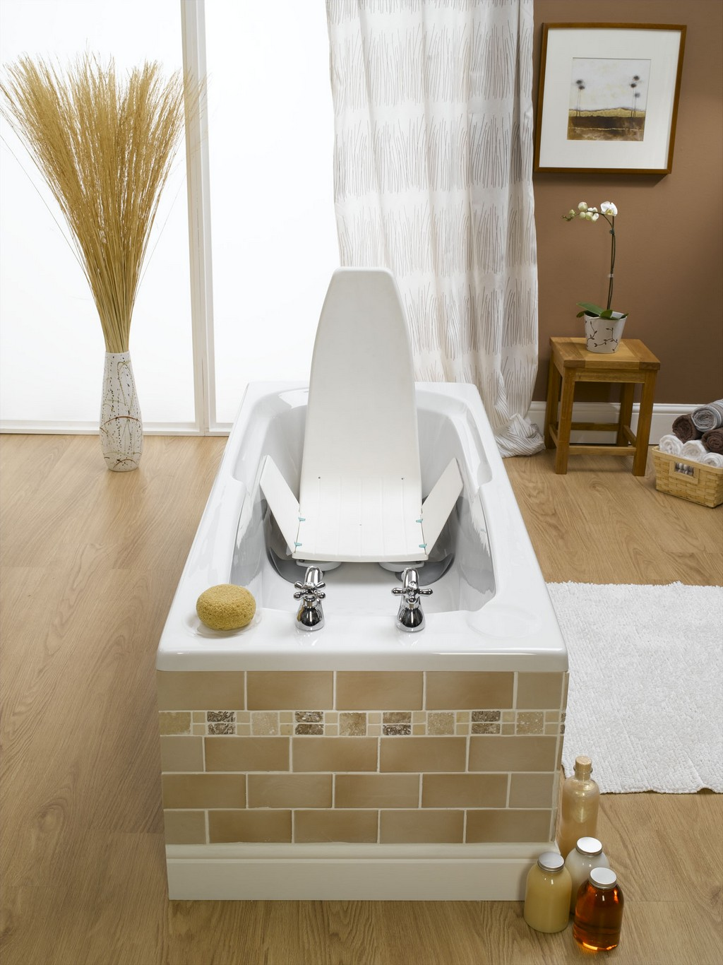 slim n lift at bed bath and beyond, ameriglide bath lift, hoyer lift bath sling, sonaris reclining bath lift