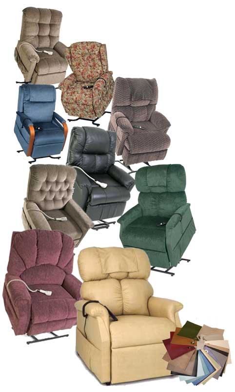 shower lift chairs, reclining chairs with seat lift, lift up chairs, electric recliner lift chair