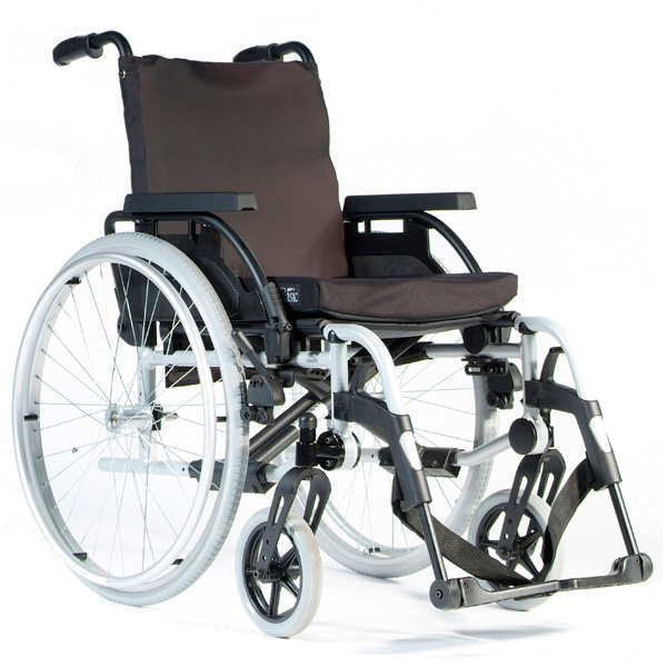 manual wheelchair adaptations for propelling, 2-drive manual wheelchair, modifying manual wheelchair into a commode wheelchair, custom manual wheelchair