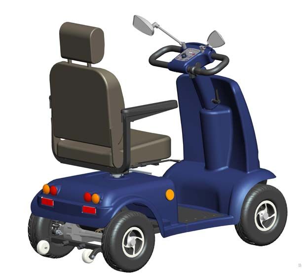 Chauffer Scooters - Chauffeur Mobility - Wheelchair or Mobility