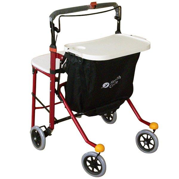four wheel rollator with padded seat, probasics jr rollator, rollator transport walker, guardian envoy 480hd rollator
