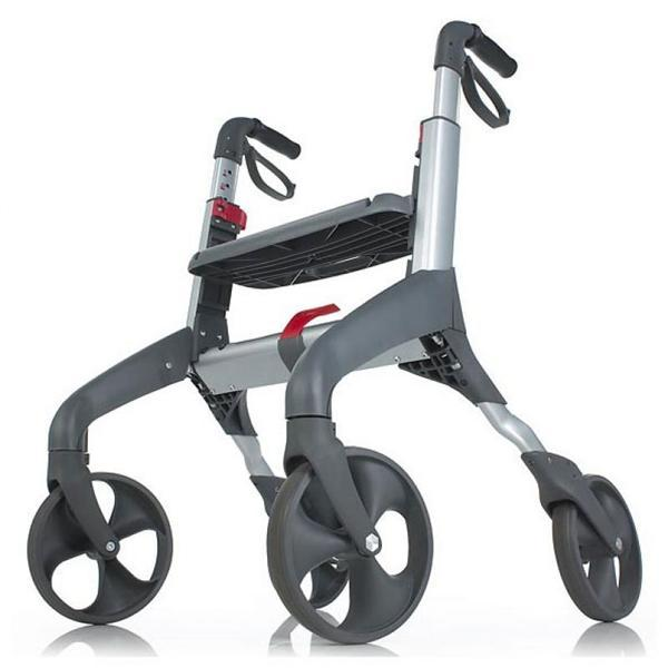 lightweight rollator, four wheel rollator with padded seat, nova rollator wheel walkers, duro med industries rollators