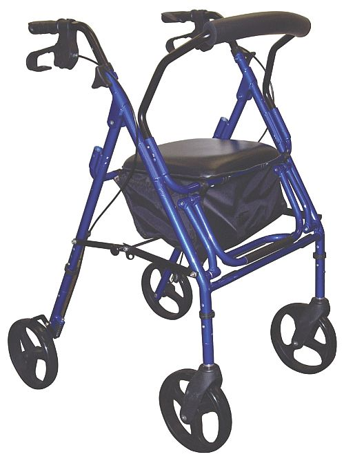eagle health ha-4 adjustable rollators, wide rollators with seat, rollator volaris reviews, all terrain rollators