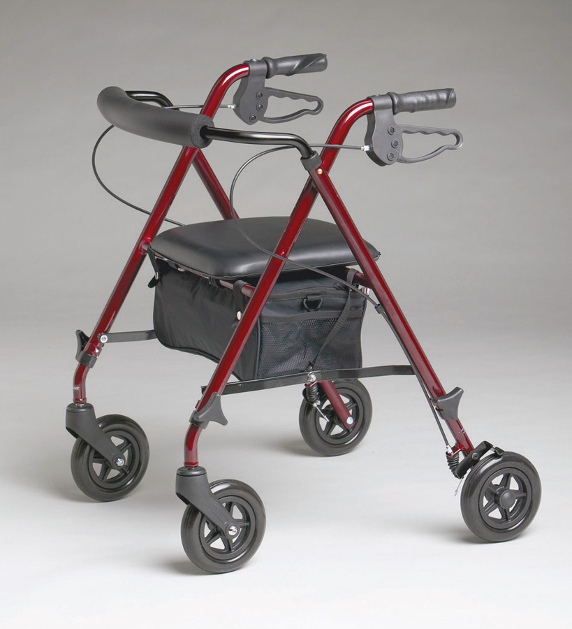 probasics rollators, replacement wheels for sam hall rollator, bariatric rollators, rollators with seat