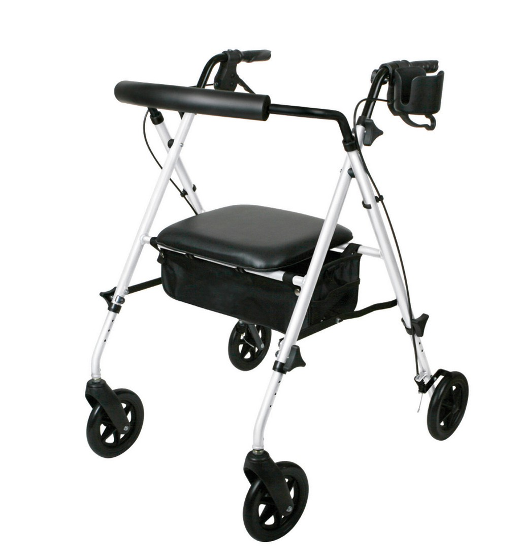duty rollator, brake assemblyset for rollators, nova rollator replacement wheels, duro-med light weight rollator