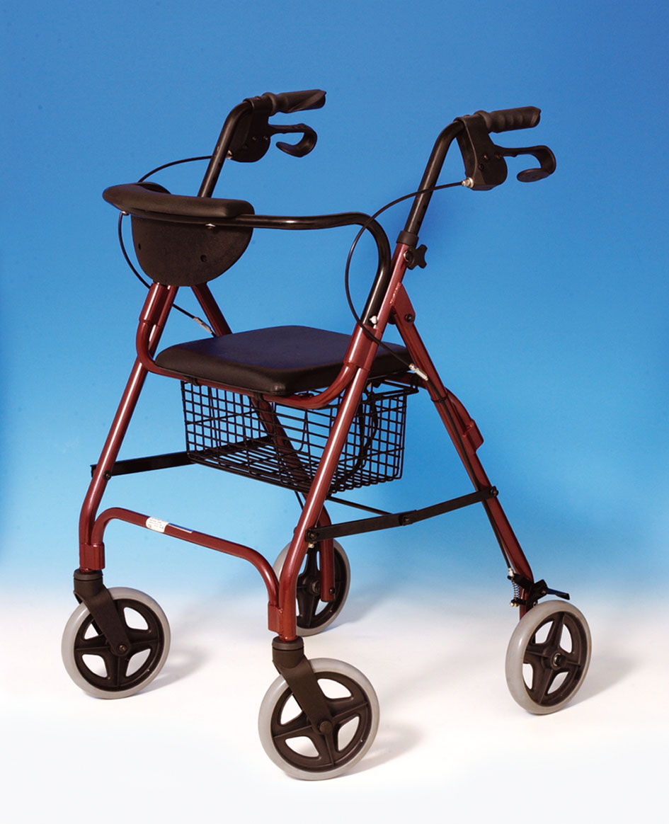 rollator walkabout, rollator comparison guide, rollator replacement wheels, invacare economy jr rollator