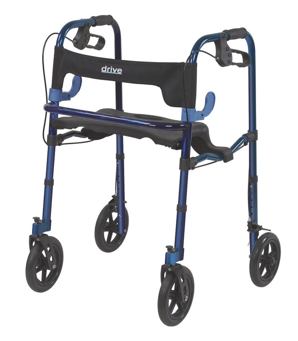 invacare four wheel rollator walker 8 wheels, rollators for tall people, three-wheel rollator, envoy 480 blue rollator walker
