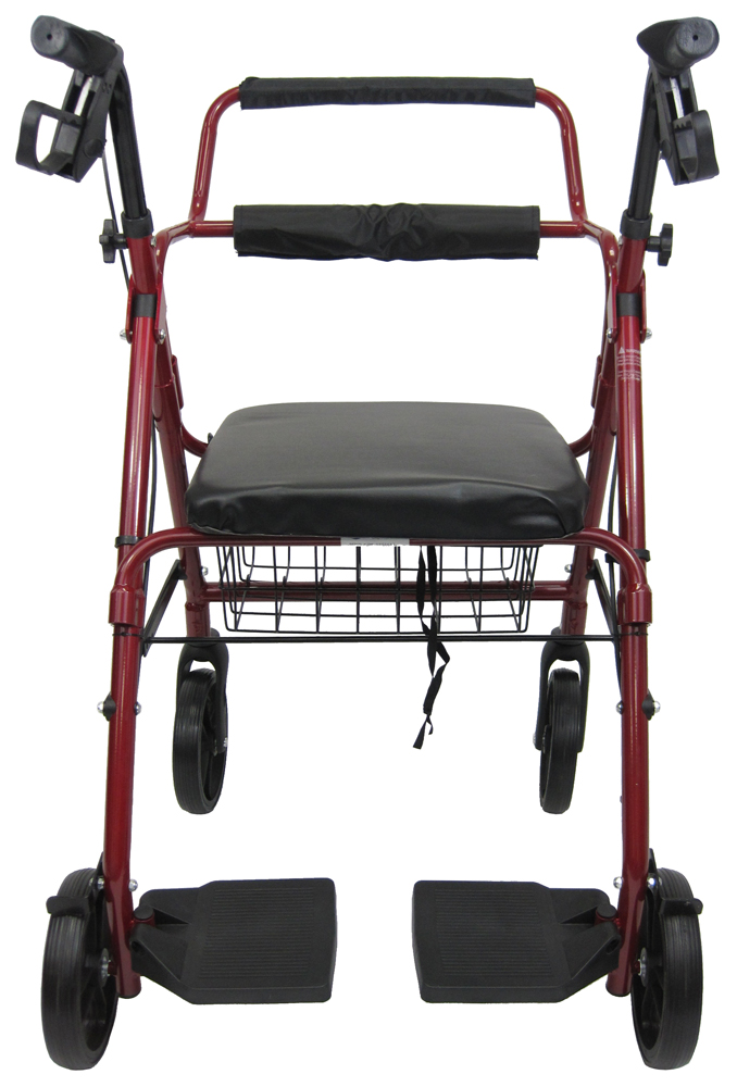 invacare economy jr rollator, three-wheel rollator, small rollators, invacare economy jr rollator