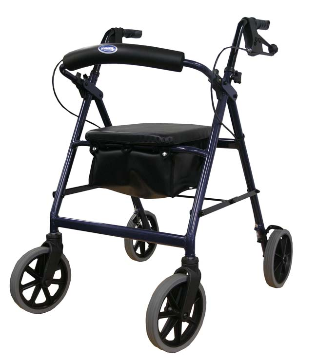deluxe aluminum rollator black, probasics rollators, childrens rollators, cosco rollators
