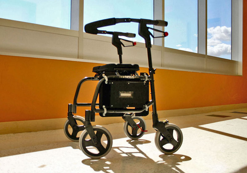 rolling rollator walker, cosco rollator, wheel rollator, medline ultra-light rollator