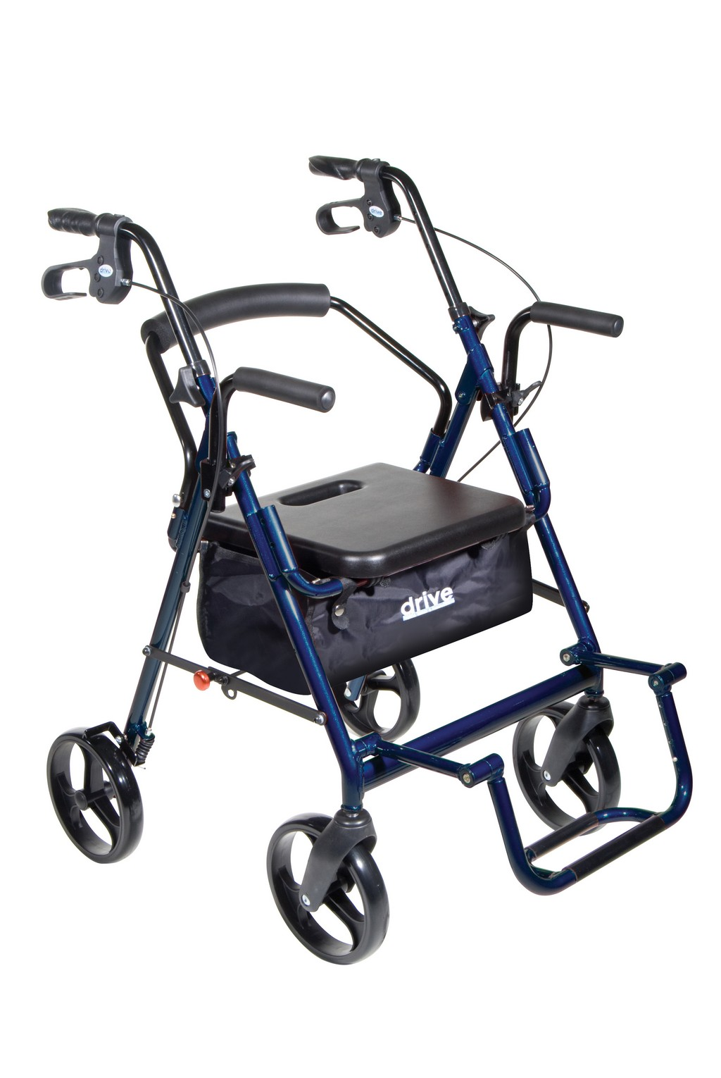 eagle health ha-4 adjustable rollators, duro-med light weight rollator, rollator trays mugholders, medline freedom rollator