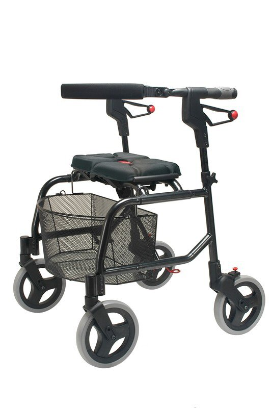 rollator walkers, invacare four wheel rollator walker, drive medical go-lite rollator, rollator how to choose
