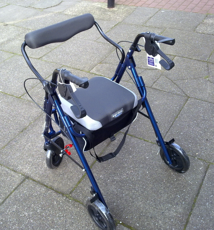 cosco rollators, where to buy a used rollator, rollator walker baskets, medline ultra light rollator