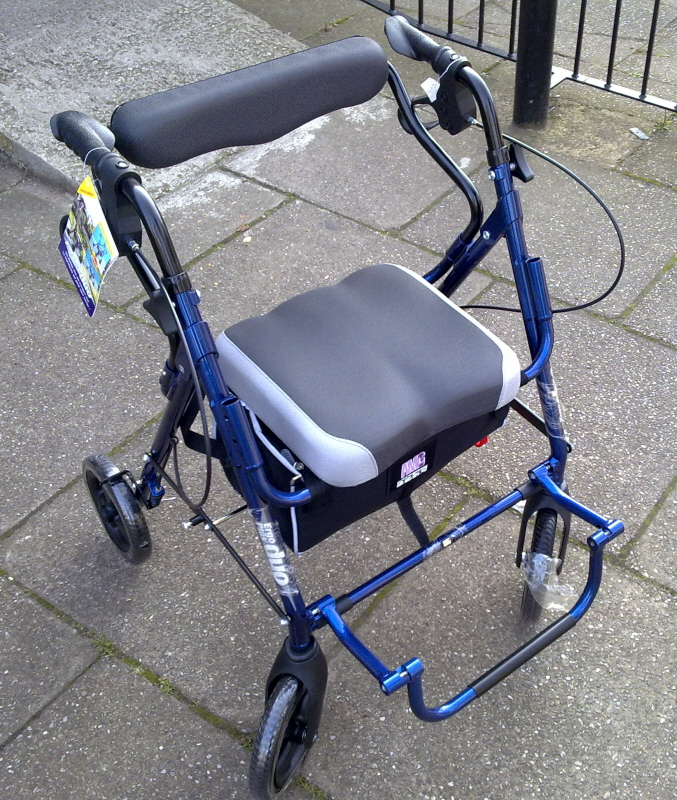 medline rollator, rollators, medline aluminum rollators, rollator parts