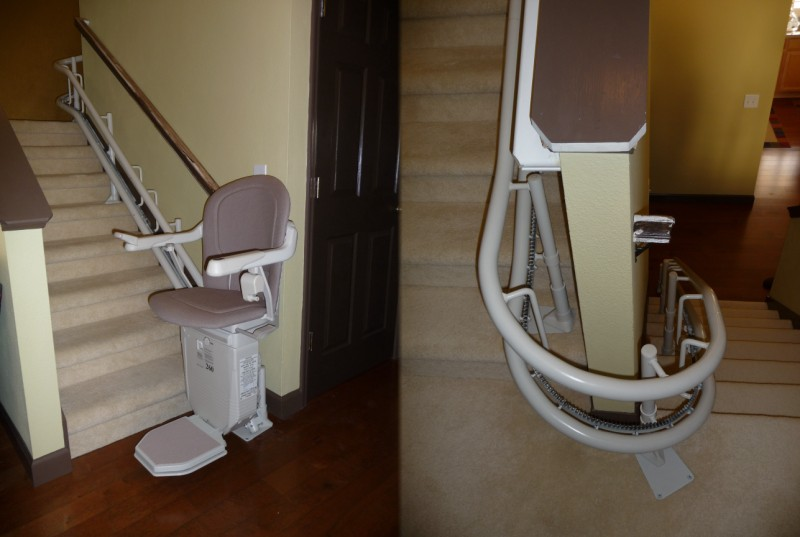 Wheelchair assistance stannah stairlifts service us for Motorized stair chair lift