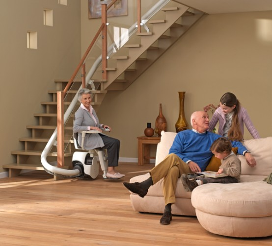 Wheelchair Assistance Stair Lift Chair