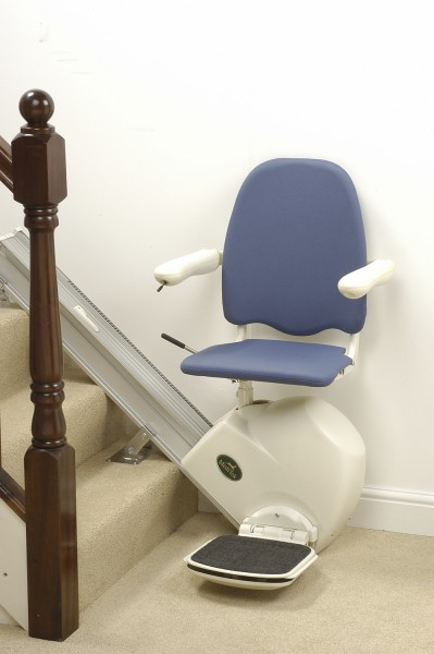 buy stairlift, curved lift stair, acorn superglide stair lift, reconditioned stair lifts