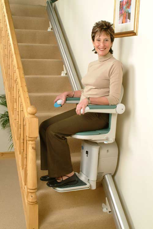Wheelchair assistance concord liberty stair lift manual for Motorized stair chair lift