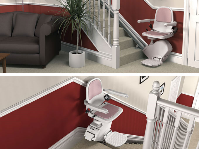sterling 950 stair lift, acorn stair lifts inc, wheelchair stair lift, stairlifts vermont