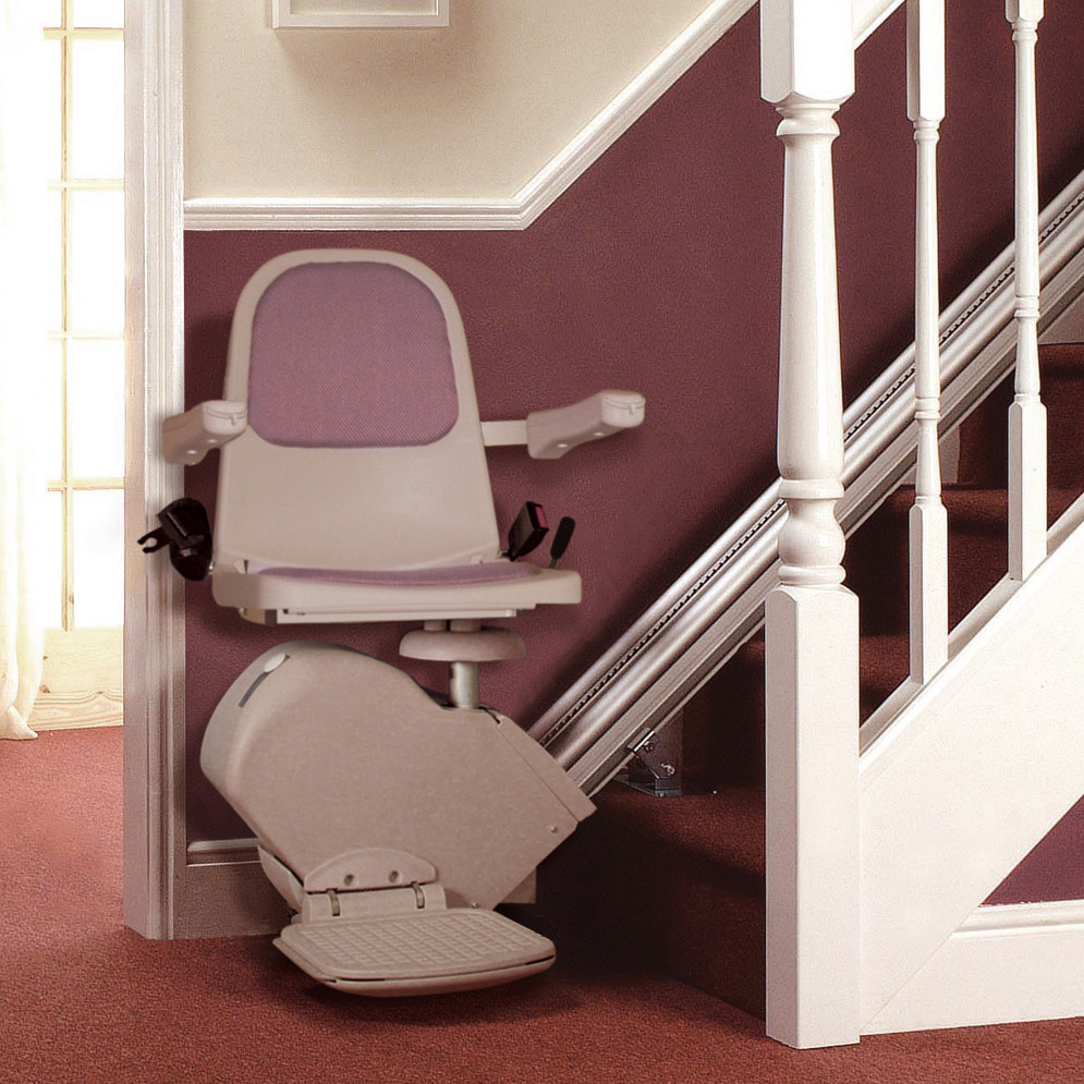 Wheelchair assistance chair stair lifts for Motorized stair chair lift