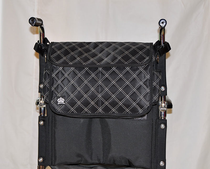 pronto wheel chair accessories, waterproof nylon wheelchair bag, pronto wheel chair accessories, gel cushion wheelchair