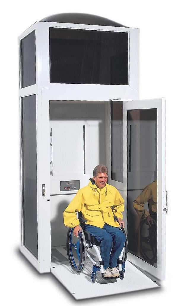donated wheelchair lifts, wheelchair lifts, overhead wheelchair lift, wheelchair lift vehicle
