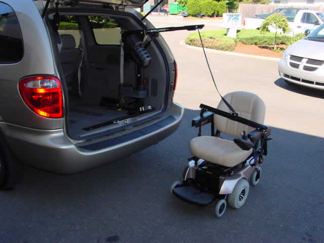 Wheelchair Assistance Hydraulic Wheelchair Lifts For Van