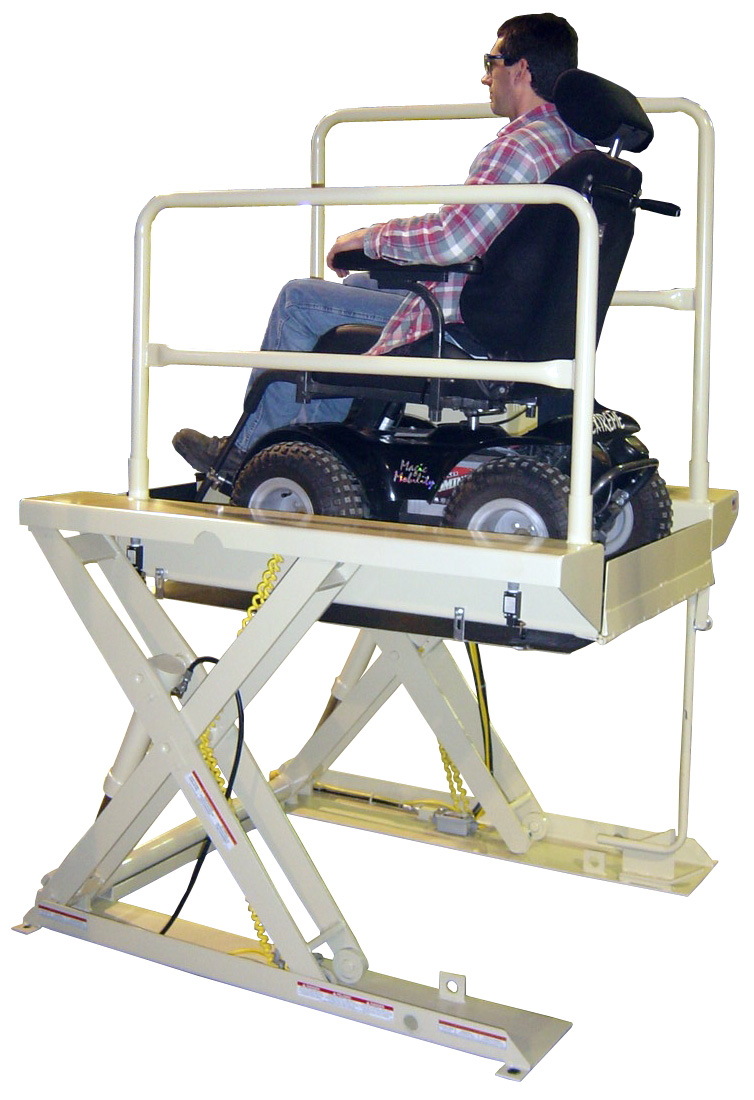 Hydraulic Wheelchair Lifts For Vehicles : Wheelchair assistance monarch hydraulic lifts