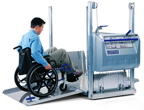Wheelchair Assistance | Power wheel chair seat lift