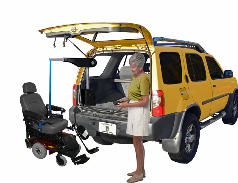 power wheelchair and scooter lifts, install wheelchair lifts for vans houston, wheelchair lift for dodge minivan, elaine ann wheelchair lifts