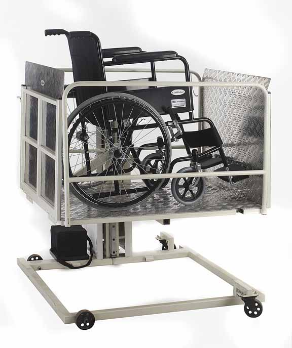 Hydraulic Wheelchair Lifts For Vehicles : Wheelchair assistance outdoor lift