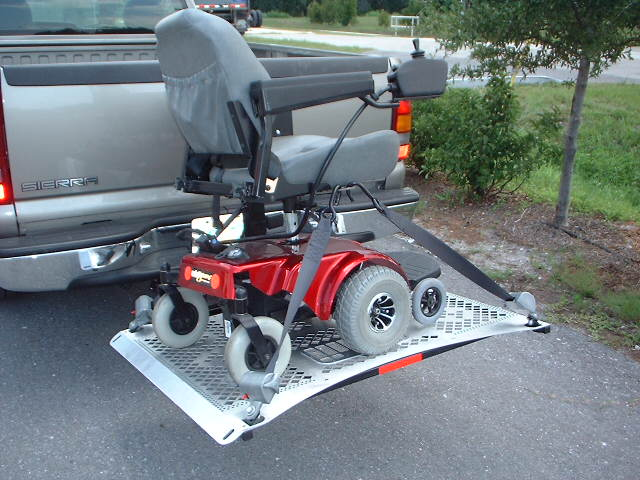 Wheelchair Assistance Homemade Motorhome Wheelchair Lift