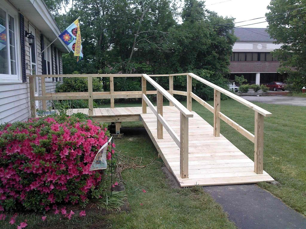 wheelchair ramp how to, diy wheelchair ramp, how to build a temporary wheelchair ramp, home wheelchair ramp