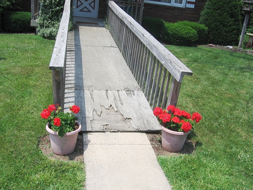 wheelchair ramp rental, build a wheelchair ramp yourself, modular wheelchair ramps, manufactured wheelchair ramp