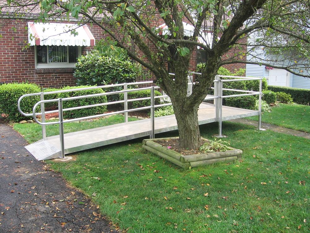 wood wheelchair ramp plans, make plywood wheelchair ramp, specs for wheel chair ramp, maximum slope for wheelchair ramp