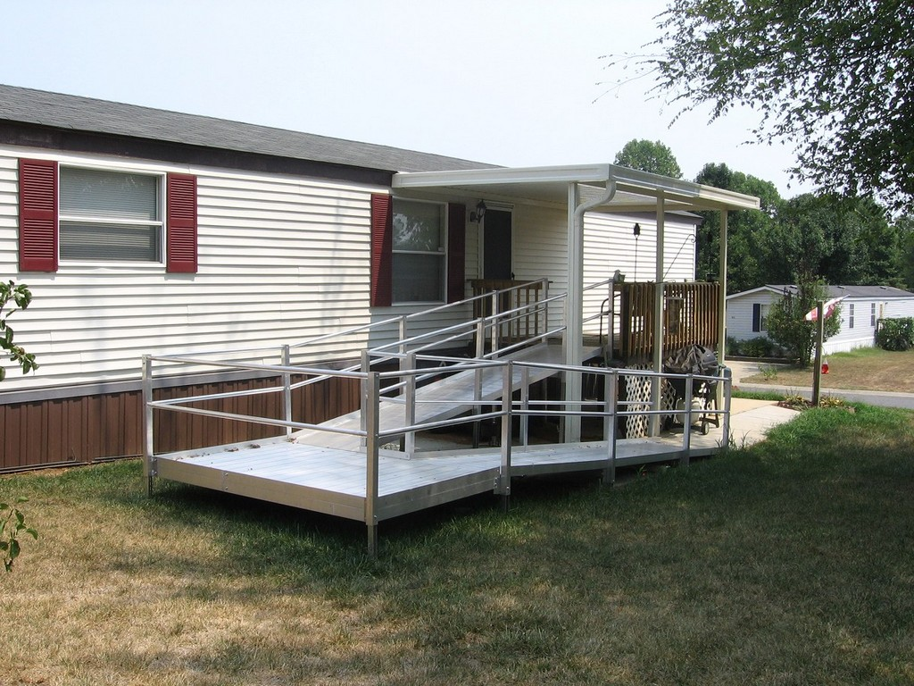 wheelchair ramp built, wheel chair ramp proper pitch, wheelchair ramp construction, small portable wheelchair ramps