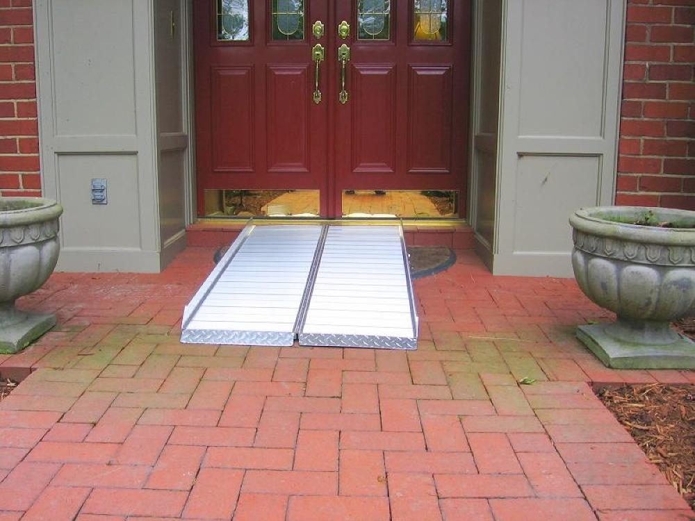build inside wheelchair ramp, how to build wheel chair ramps, wheelchair ramp ohio, aluminum sheet wheelchair ramp