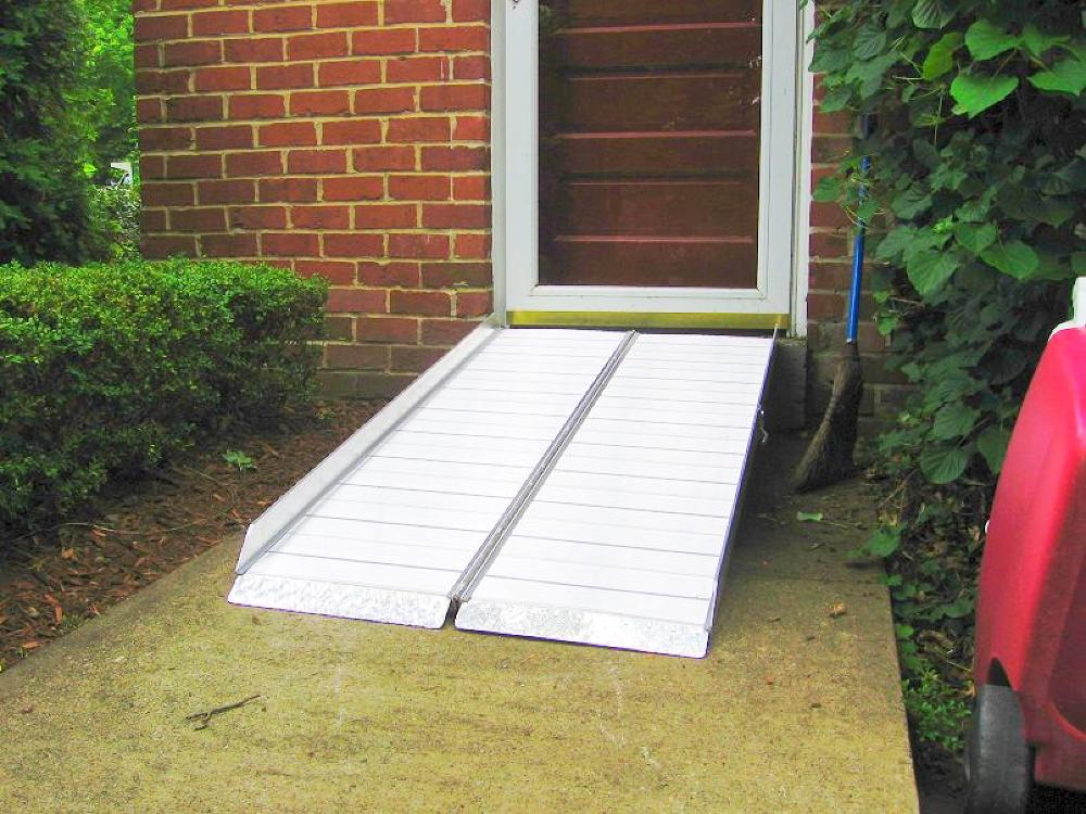 Home Depot Portable Steps : Wheelchair assistance telescoping ramps