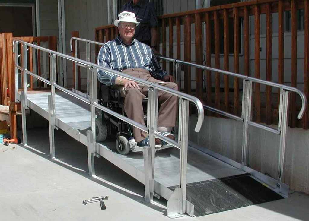 Wheelchair assistance used wheelchair ramps House plans for disabled people