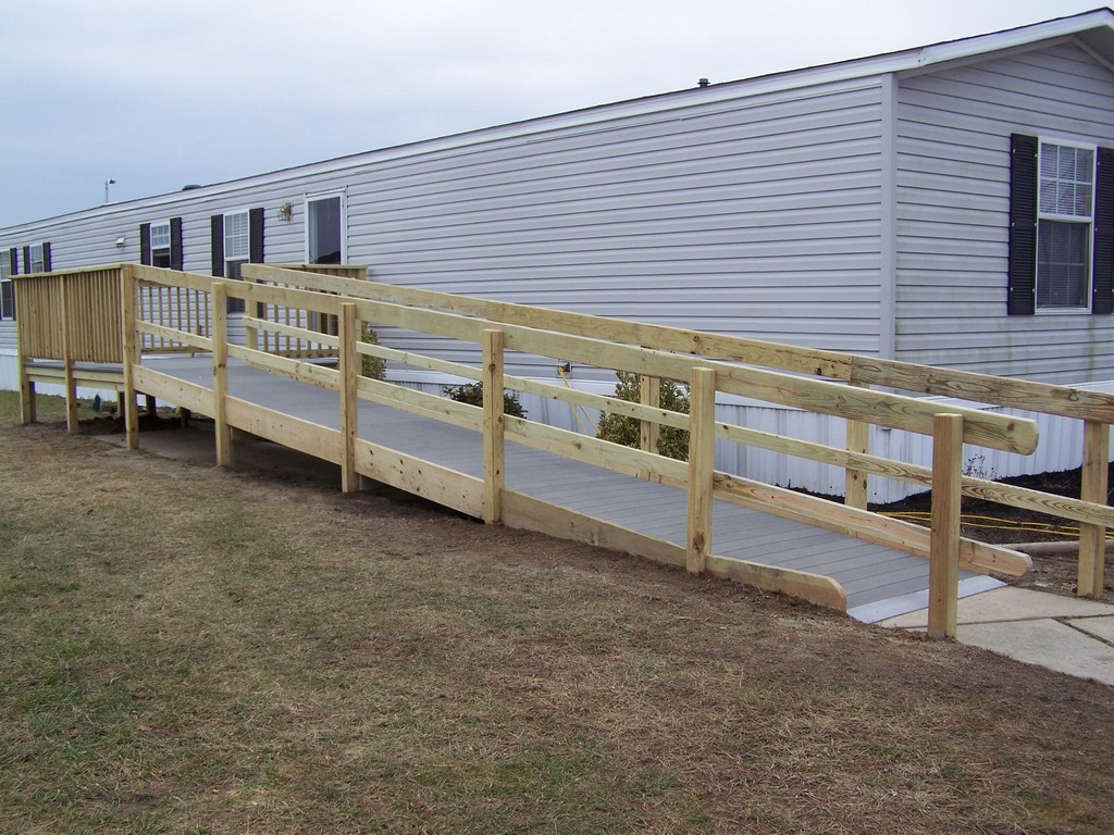 Woodwork how to build wood ramps pdf plans for Wheelchair homes