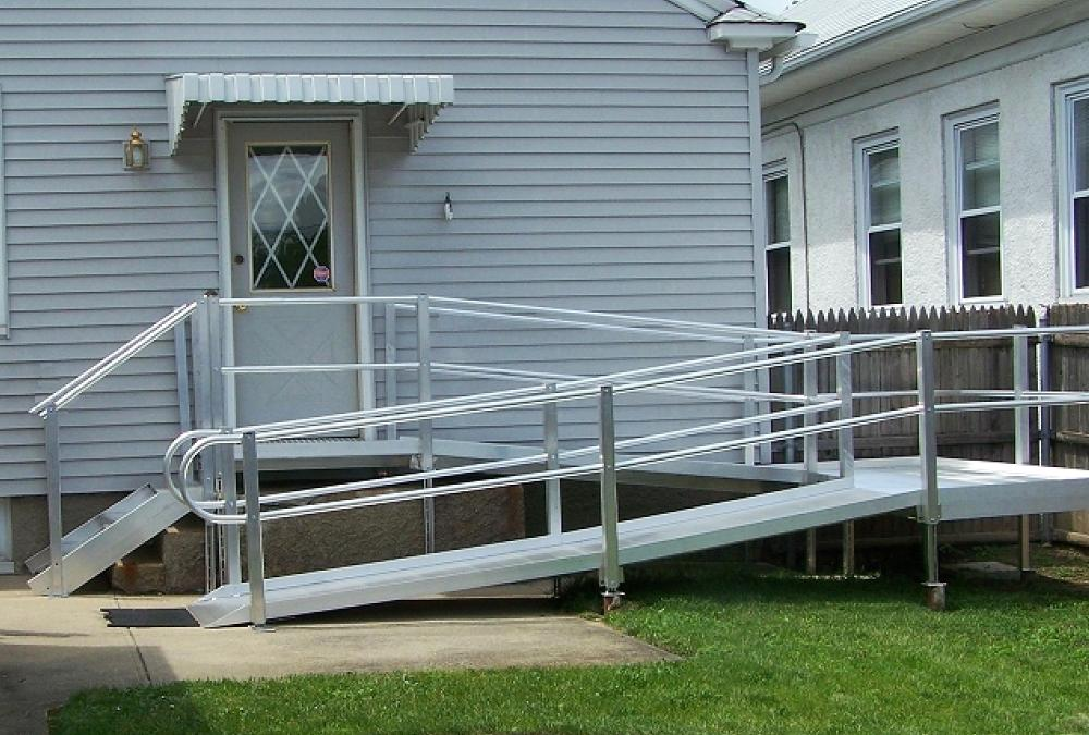 How To Build Wooden Handicap Wheelchair Ramps Ehowcom Apps Directories
