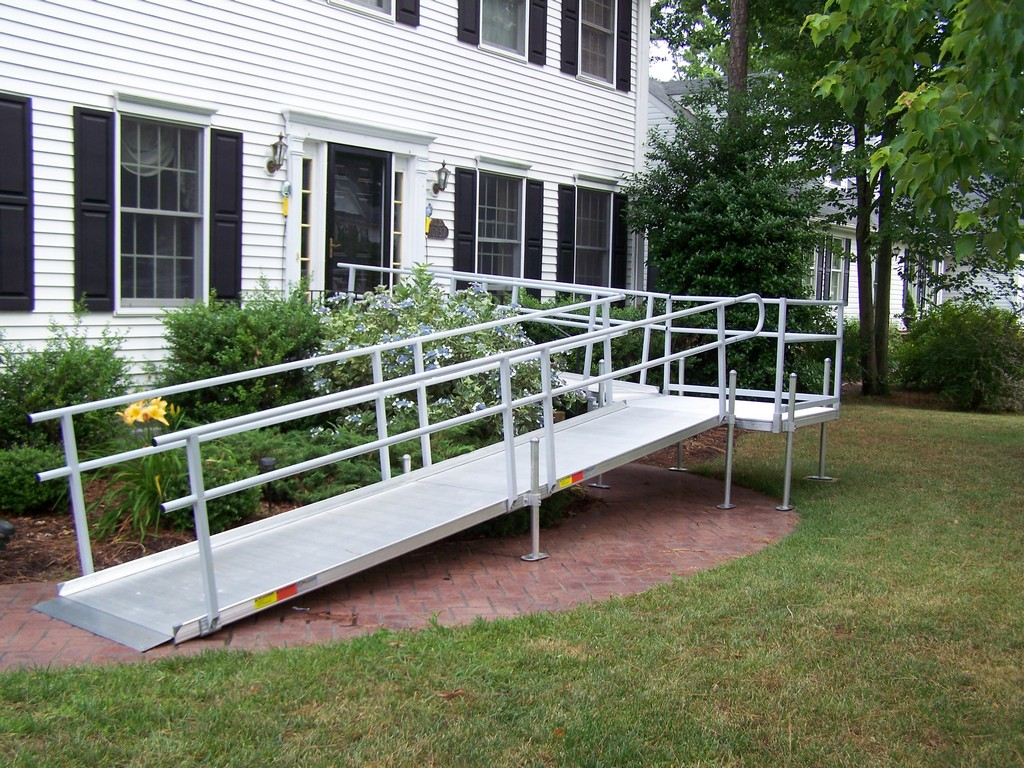 Wheelchair assistance folding wheel chair ramps for Wheelchair homes