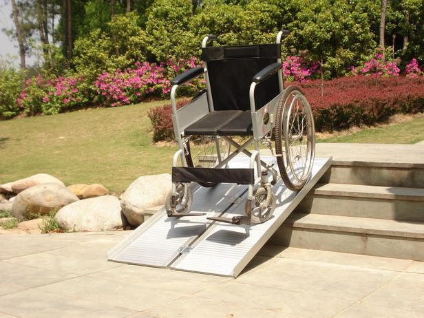 lightweight portable wheelchair ramps, make wheelchair ramp, simple wheel chair ramps, wheelchair ramps build your own