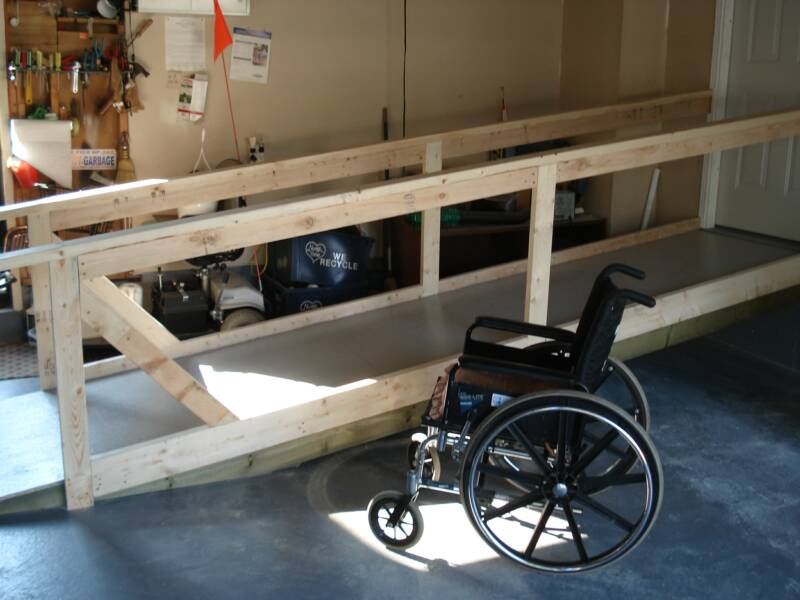 Wheelchair assistance portable wheelchair ramps for stairs for Wheelchair homes