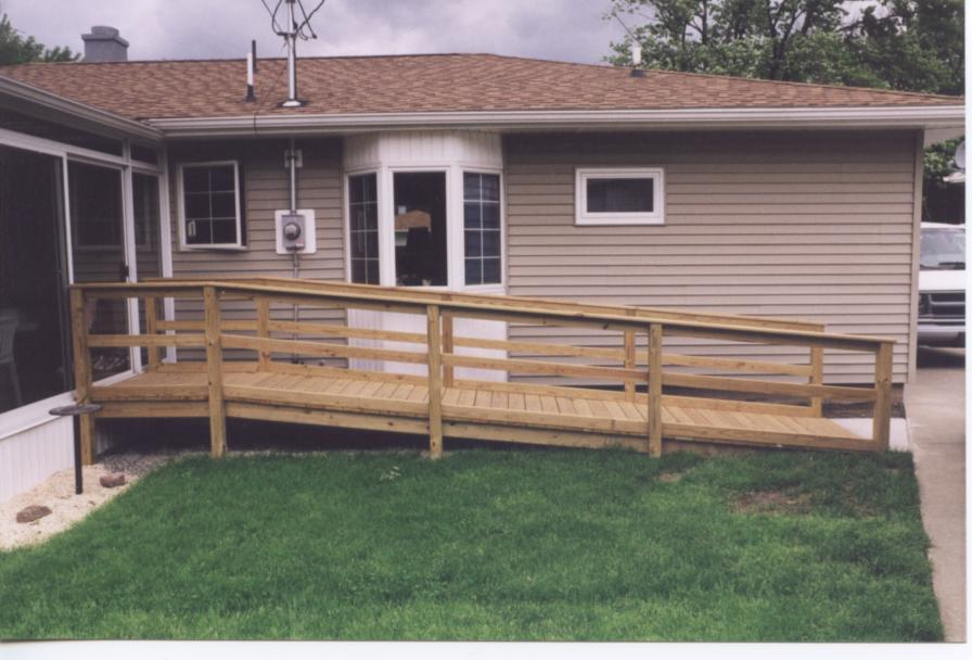 Ramp, Search Wheelchair Ramps, Build A Temporary Wood Wheelchair Ramp