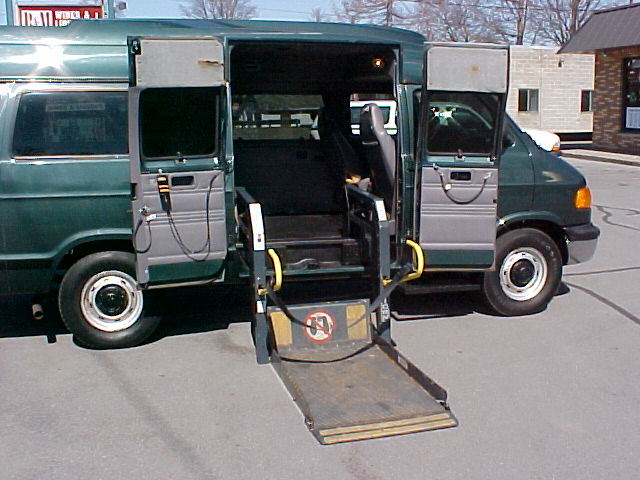 used wheelchair van wheel chair lift vans handicap wheelchair van